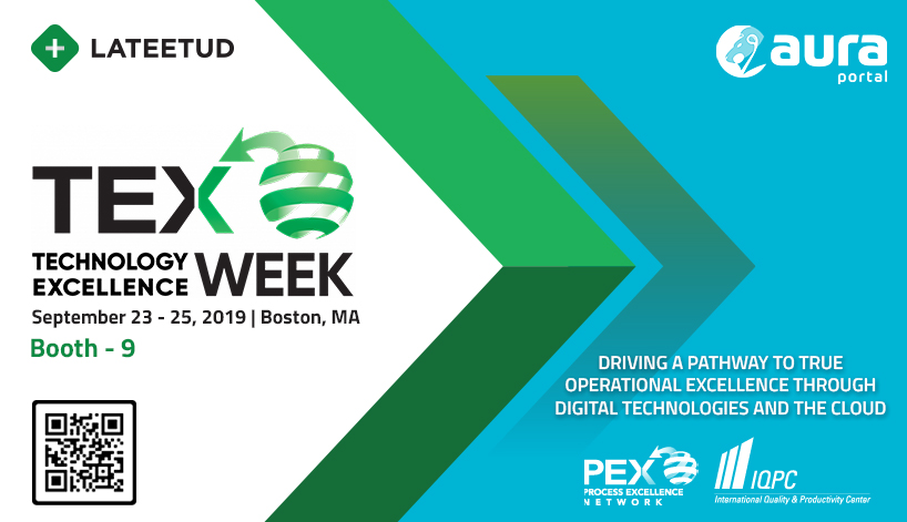 Lateetud at TEX Week in Boston